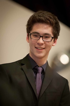 Ryan Han, 2013 Lake Washington Singers scholarship award winner.